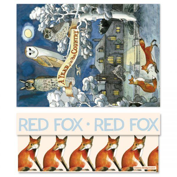 Emma Bridgewater Forest Animal Red Fox Large Gift Box -0