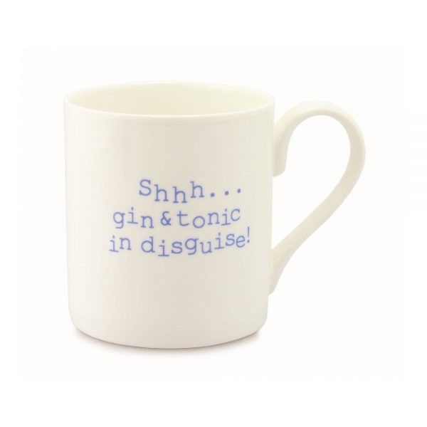 Always Sparkle Shhh Gin and Tonic in Disguise Mug-0