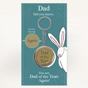 Rufus Rabbit Dad Keyring -0