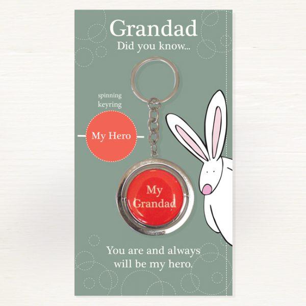 Rufus Rabbit Grandad Keyring-0