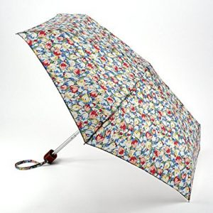 Cath Kidston Painted Tulips Blue Handbag Umbrella-0