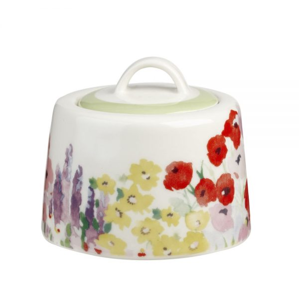 Collier Campbell Painted Garden Sugar Bowl-0