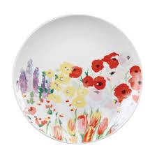 Collier Campbell Painted Garden Tea Plate-0