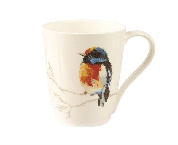 Harlequin Persico Lemon Birds Mug Gift Boxed-0