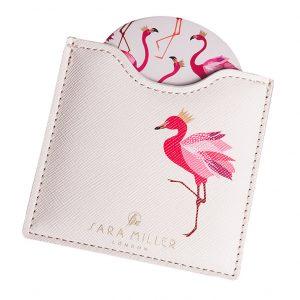 Sara Miller Flamingo Compact Mirror-0