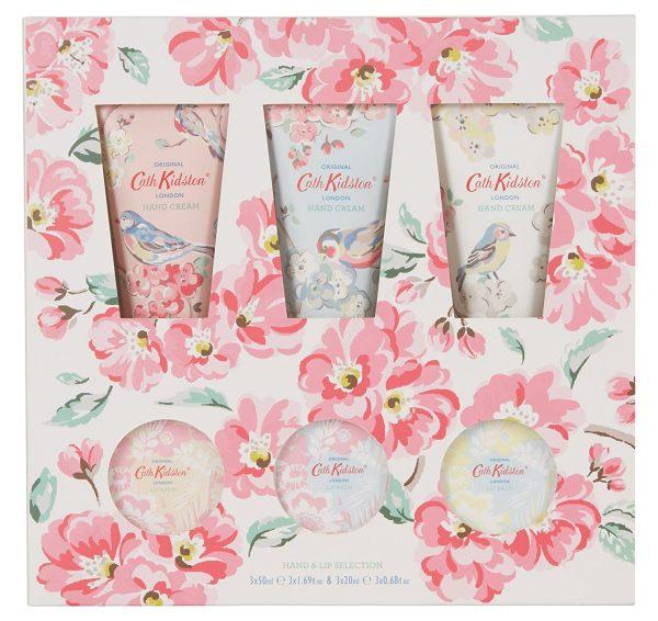 Cath Kidston Blossom Birds Hand & Lip Selection Gift Set-0