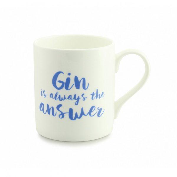 Always Sparkle Gin Is Always The Answer Mug-0