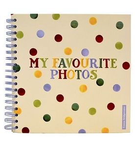 Emma Bridgewater Polka Dots Scrapbook Photo Album - 20 Sheets-0