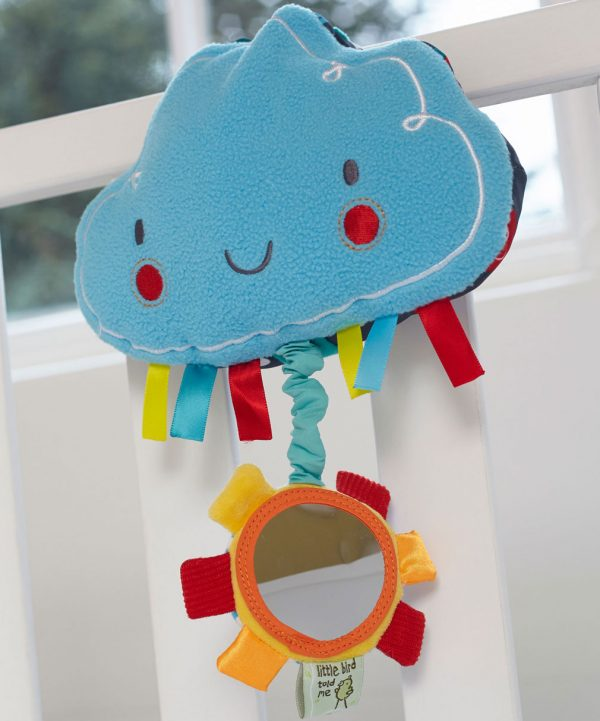 Little Bird Told Fluffy Cloud Musical Pull Toy-0