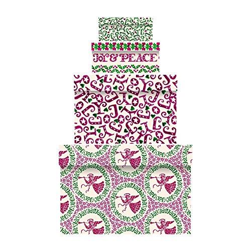 Emma Bridgewater Christmas Joy Nest of 4 Gift Boxes with Tags-0