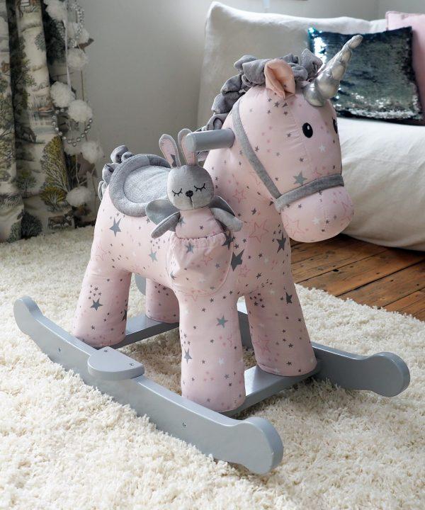 Little Bird Told Me Celeste & Fae Unicorn Rocking Horse (9 months +)-0