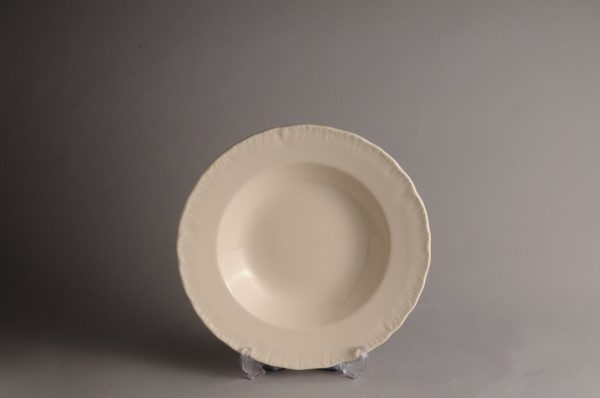 Hartley Greens Leeds Pottery Shell Edge Soup Plate-0