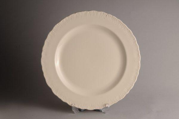 Hartley Greens Leeds Pottery Shell Edge Serving Plate-0