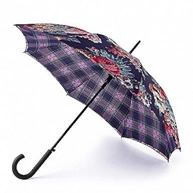 Cath Kidston Black Freston Check Bloomsbury Umbrella-0
