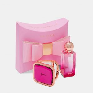 Ted Baker Beauty Bow Polly Fragrance & Mirror Gift Set -0