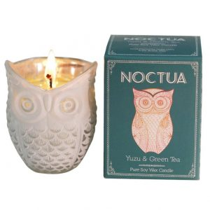 Noctua Owl Candle Yuzu & Green Tea-0