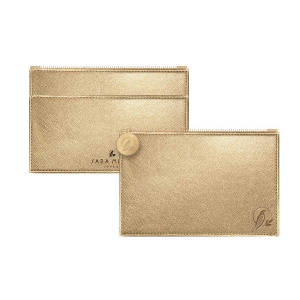 Sara Miller Gold Coin Purse-0
