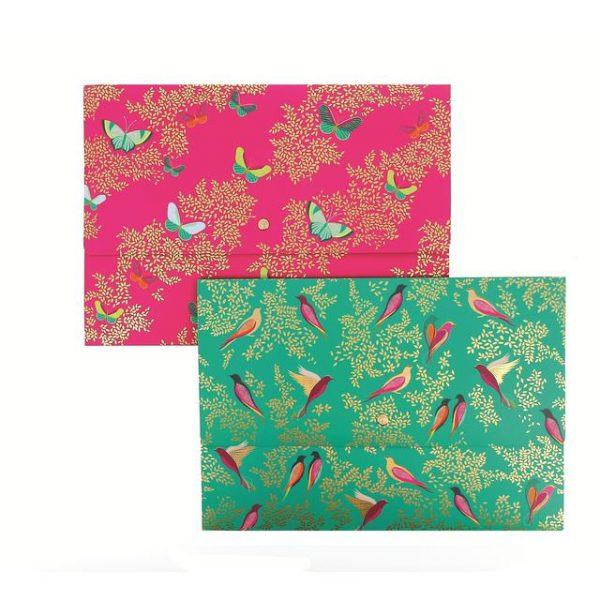 Sara Miller Birds & Butterflies Document Wallets -0
