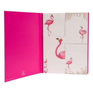 Sara Miller Flamingo Sticky Notes -0