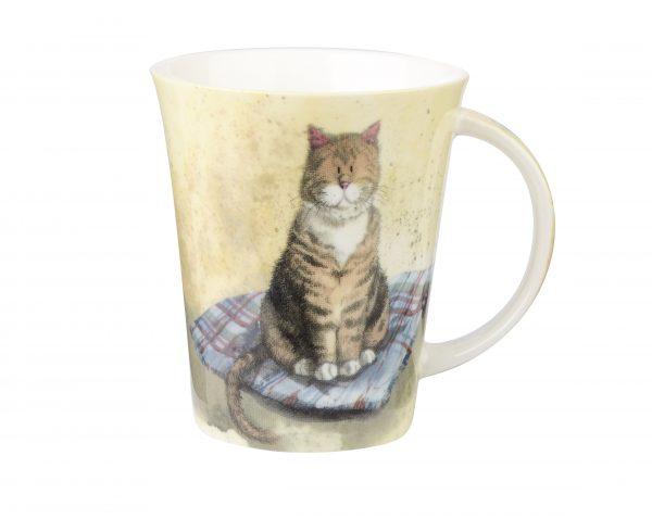 Alex Clark Cats Cat Blanket Mug Gift Boxed-0