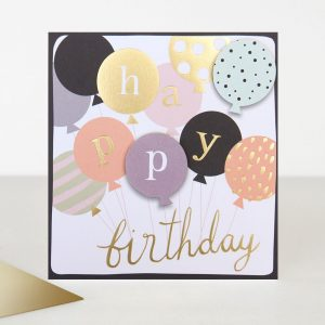 Caroline Gardner Happy Birthday Balloons Card-0