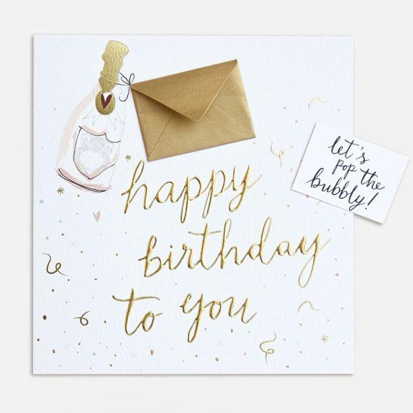 Caroline Gardner Keepsake Happy Birthday To You Card-0