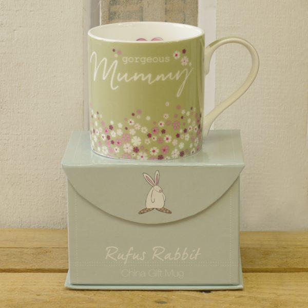 Rufus Rabbit Gorgeous Mummy Mug Gift Boxed-0