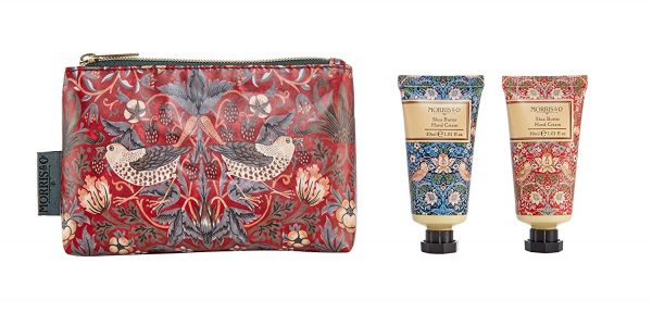 William Morris Strawberry Thief Hand Care Bag-0