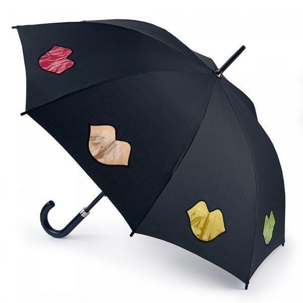 Lulu Guinness Rainbow Lip Kensington Umbrella-0