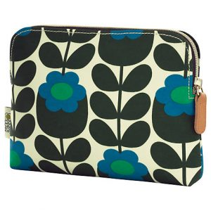 Orla Kiely Primrose Jade Cosmetic Bag-0