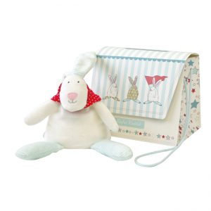 Rufus Rabbit Boy Beanie Toy & Gift Bag-0
