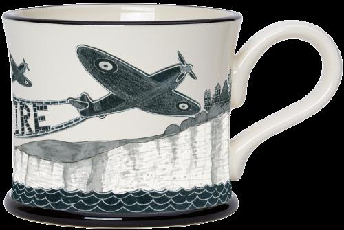 Moorland Pottery Spitfire Mug