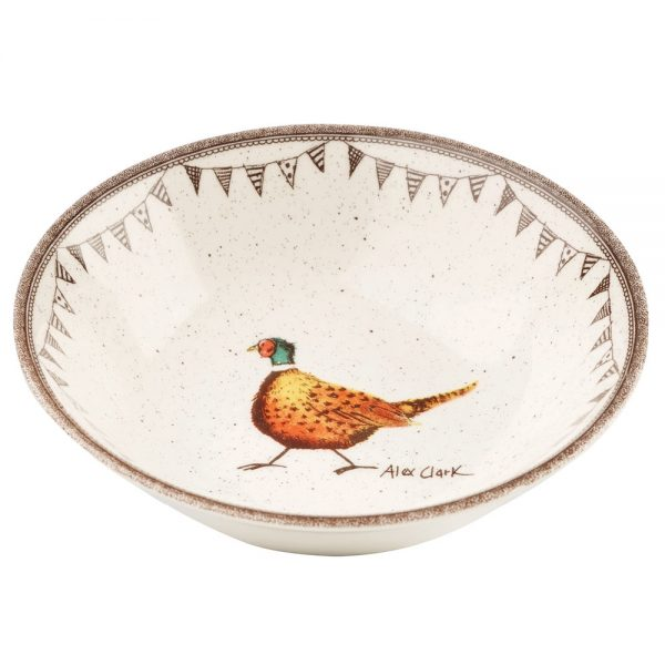 Alex Clark Wildlife Oatmeal Bowl-0