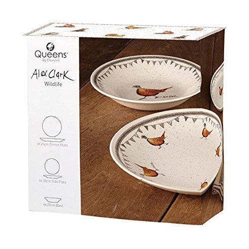 Alex Clark Wildlife 12 Piece Dinnerware Set-0