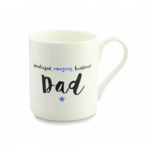 Always Sparkle Brilliant Dad Quite Big Mug-0