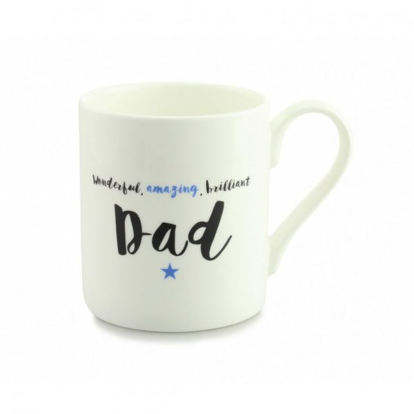 Always Sparkle Brilliant Dad Quite Big Mug-0