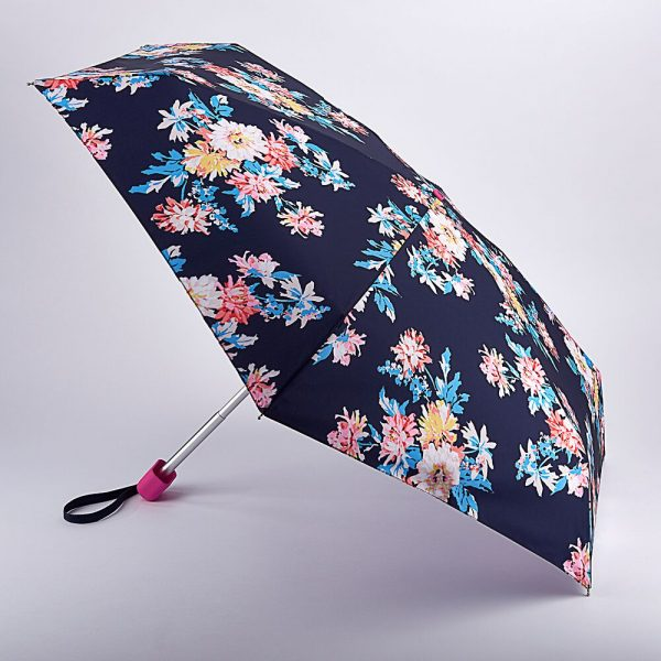 Joules Whitstable Floral French Navy Tiny Umbrella-0