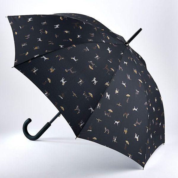 Joules Raining Dogs Kensington Umbrella-0