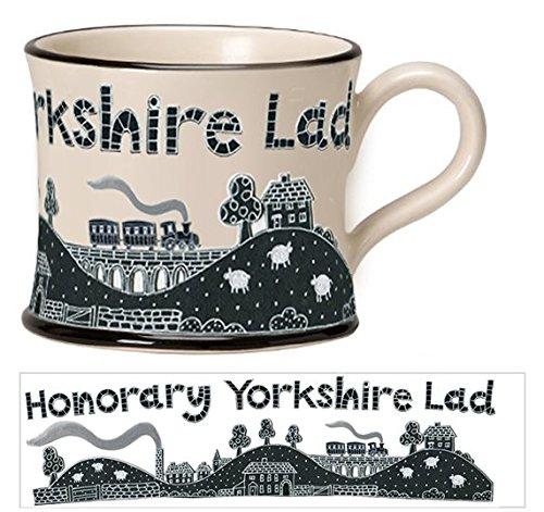 Moorland Pottery Honorary Yorkshire Lad Mug Gift Boxed-0