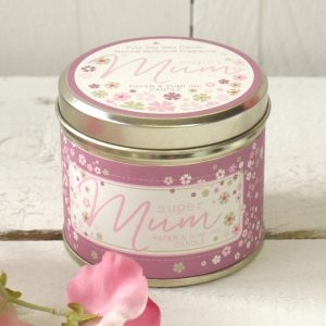 Rufus Rabbit Petal Blush Super Mum Candle-0