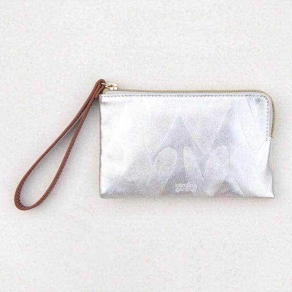 Caroline Gardner Silver Hearts Essentials Purse-0