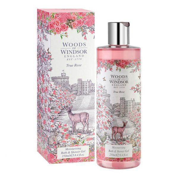 Woods Of Windsor True Rose Moisturising Bath & Shower Gel-0