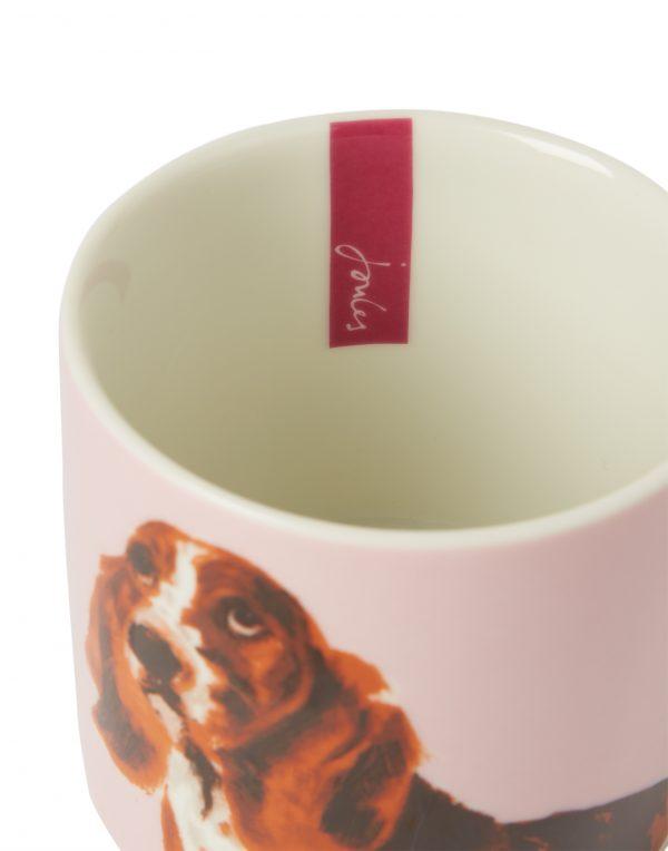 Joules Pawcasso Lilac Dog Mug, Gift Boxed-3556