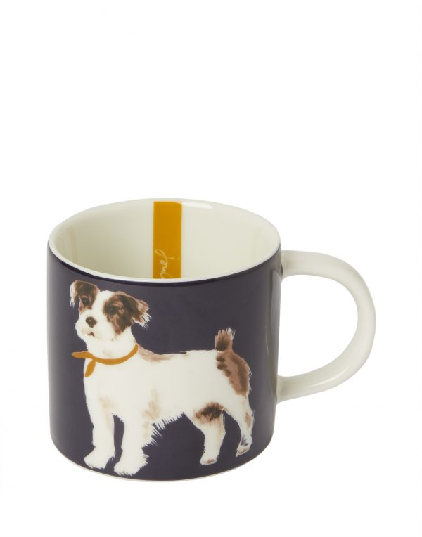 Joules Pawcasso Jack Russell Terrier Dog Mug, Gift Boxed-0