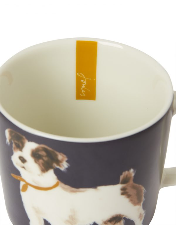 Joules Pawcasso Jack Russell Terrier Dog Mug, Gift Boxed-3551