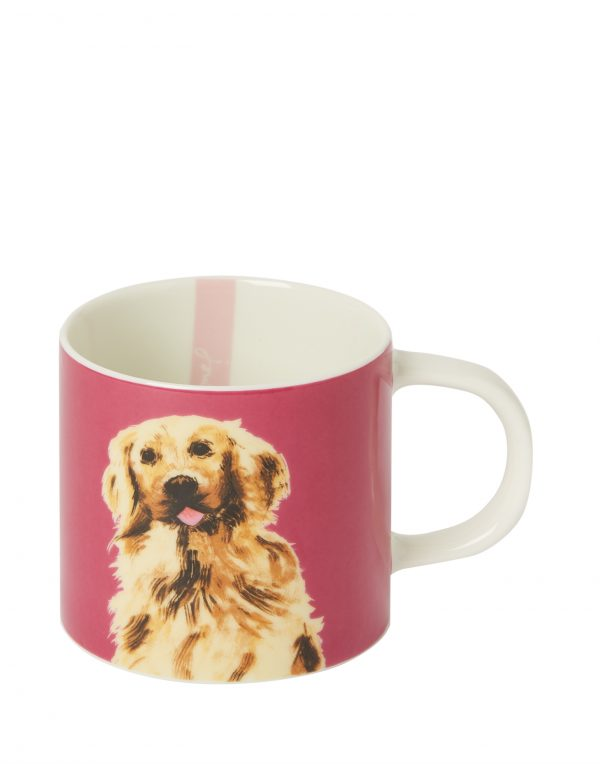 Joules Pawcasso Golden Retriever Dog Mug Gift Boxed-0