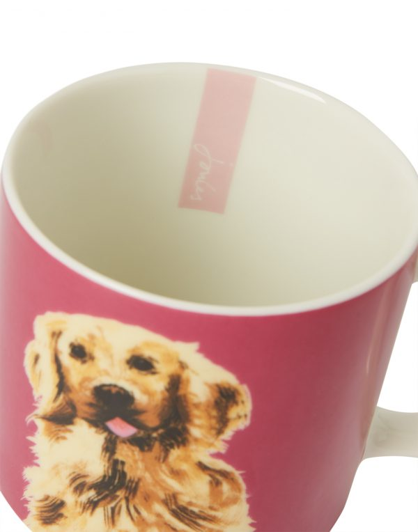 Joules Pawcasso Golden Retriever Dog Mug Gift Boxed-3550