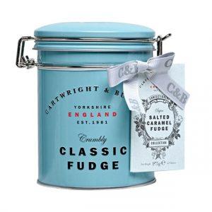 Cartwright & Butler Salted Caramel Fudge In Tin-0