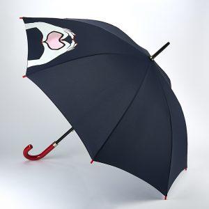 Lulu Guinness Heart Hands Walking Umbrella -0