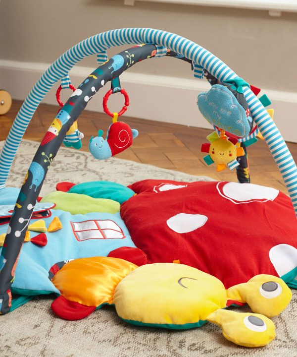 Little Bird Told Me My Little Sunshine Multi-Activity Playgym Playmat -2862